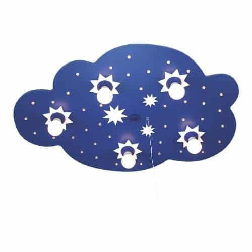 LED-Schlummerlicht-Sternenwolke-blau-5er-Deckenlampe-elobra-124215-0
