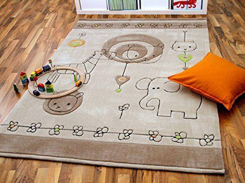 Lifestyle-Kinderteppich-Babywelt-Beige-Braun-in-3-Gren-Sofort-Lieferbar-0