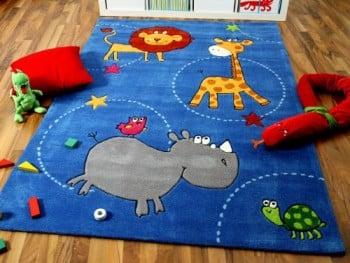 Lifestyle-Kinderteppich-Blau-Zoo-in-3-Gren-Sofort-Lieferbar-0