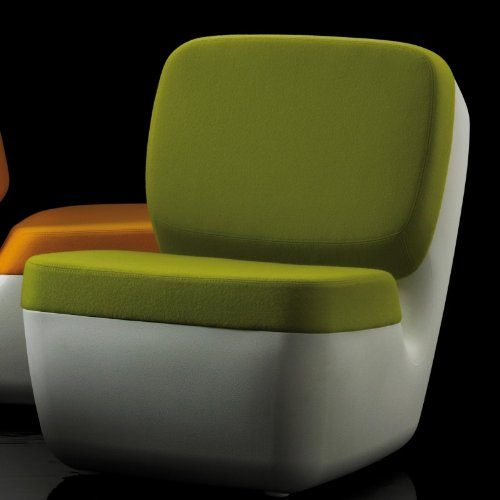 Magis-Nimrod-Sessel-weiss-hellgrn-Polyethylen-Bezug-Stoff-0