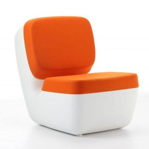 Magis-Nimrod-Sessel-weiss-orange-Polyethylen-Bezug-Stoff-0