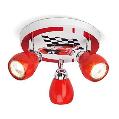 Deckenleuchte Fiona Mit Gu10 Led Lampen Kaufen: Racing Deckenleuchte Mit 3 Spots, Ø 31 Cm, Inkl. LED 3x