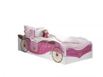 Rauch-A983090R990-Bett-Kate-90-x-200-cm-alpinwei-Absetzungen-rosafarben-0