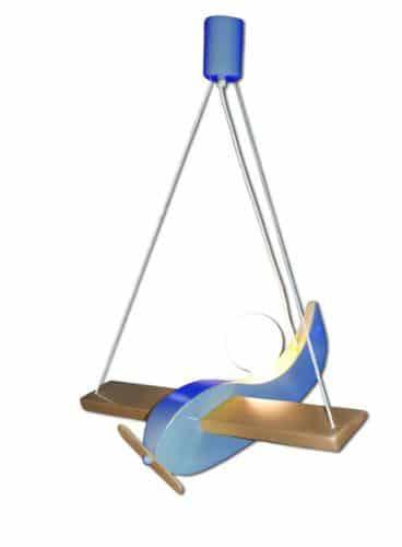 Segelflieger-1er-Deckenlampe-Waldi-Farbehellblau-0