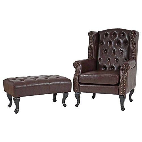Ohrensessel antik stoff  Ohrensessel Antik Stoff: Stoff gestreift ohrensessel couch ...