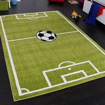 Teppich-Kinderzimmer-Fuball-Spielteppich-Kinderteppich-Fuballplatz-Grn-Grsse120x170-cm-0