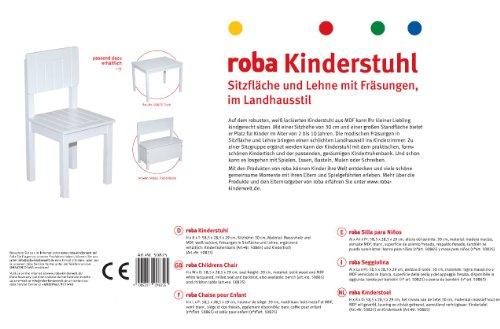 roba baumann gmbh childs chair white online kaufen bei. Black Bedroom Furniture Sets. Home Design Ideas