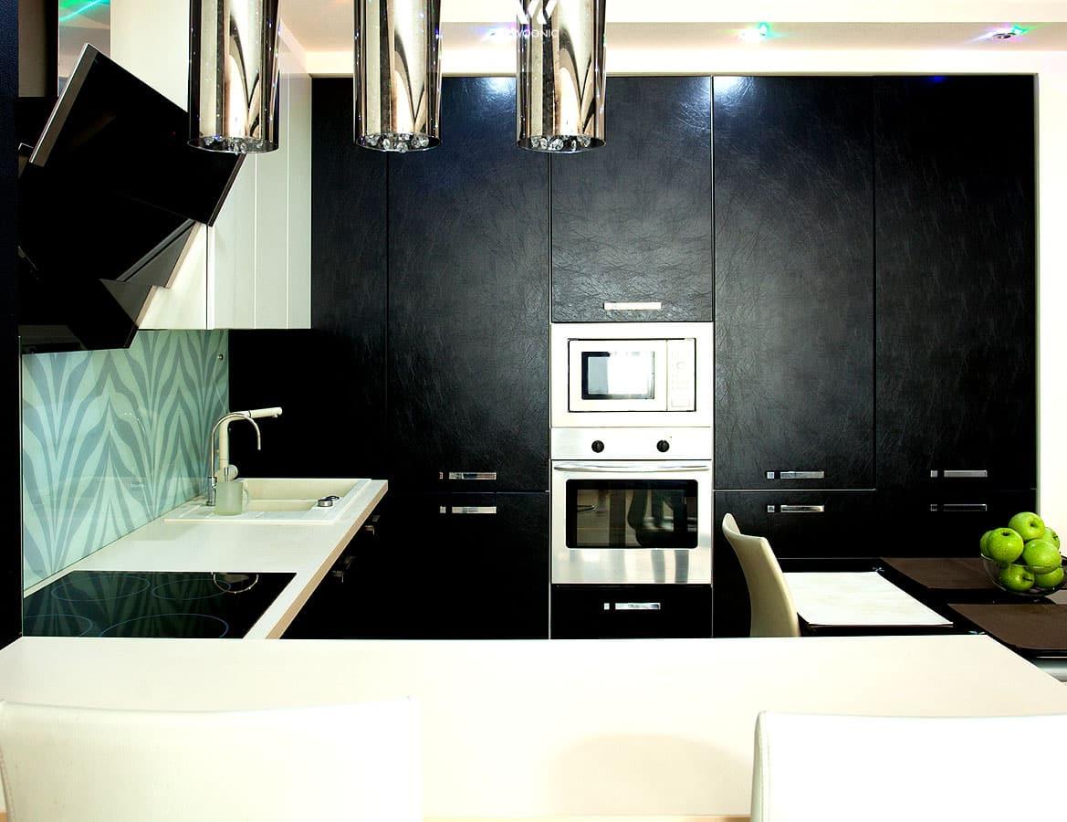 dezente muster in der k chengestaltung geben deiner neuen. Black Bedroom Furniture Sets. Home Design Ideas