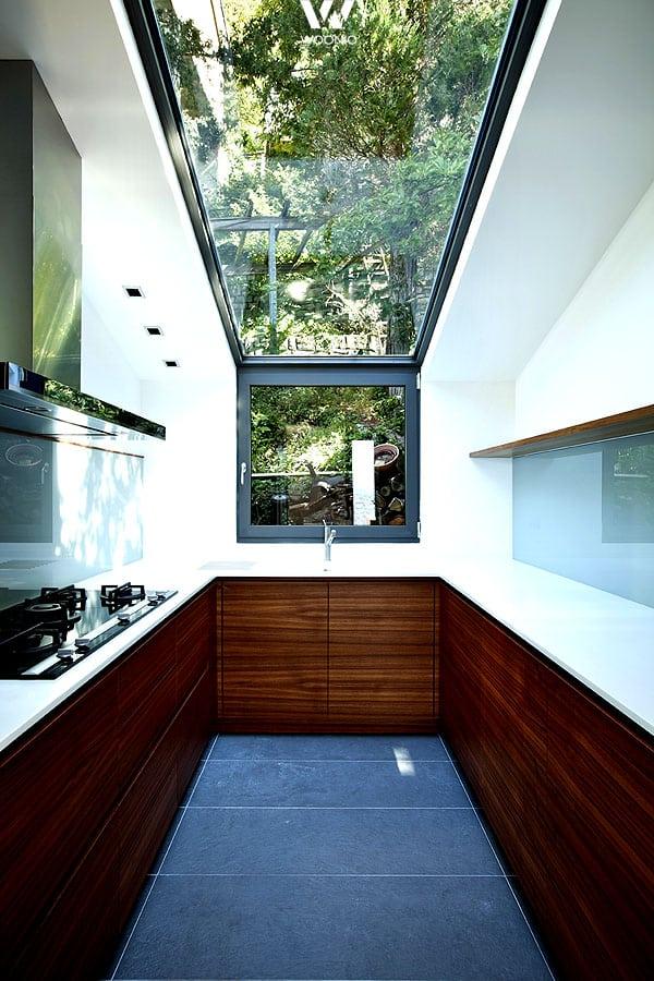 der wohl sch nste ausblick den man beim kochen nur haben. Black Bedroom Furniture Sets. Home Design Ideas
