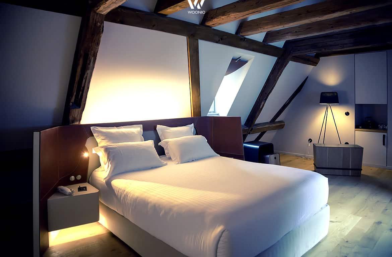 Indirektes Licht Gibt Dem Schlafzimmer Sein Gemutliches Schlummriges