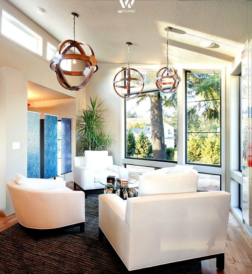 au ergew hnliche h ngeleuchten geben dem wohnzimmer seinen einzigartigen touch wohnidee by woonio. Black Bedroom Furniture Sets. Home Design Ideas