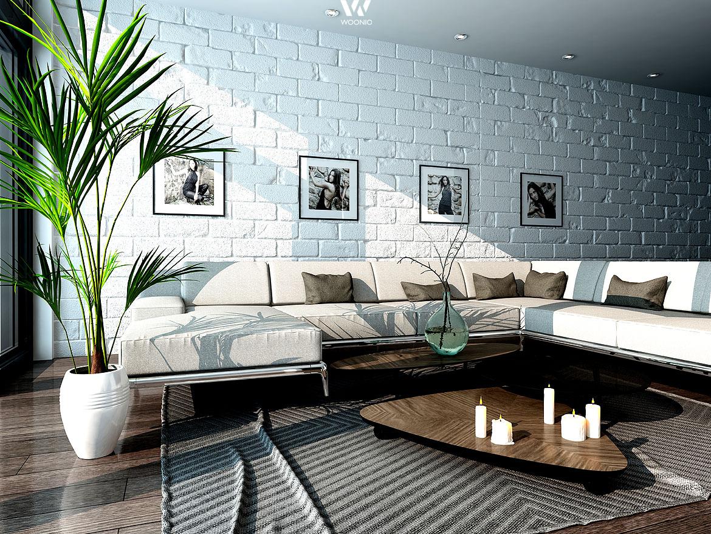 pers nliche fotos an der wand geben dem wohnzimmer seinen charakter wohnidee by woonio. Black Bedroom Furniture Sets. Home Design Ideas