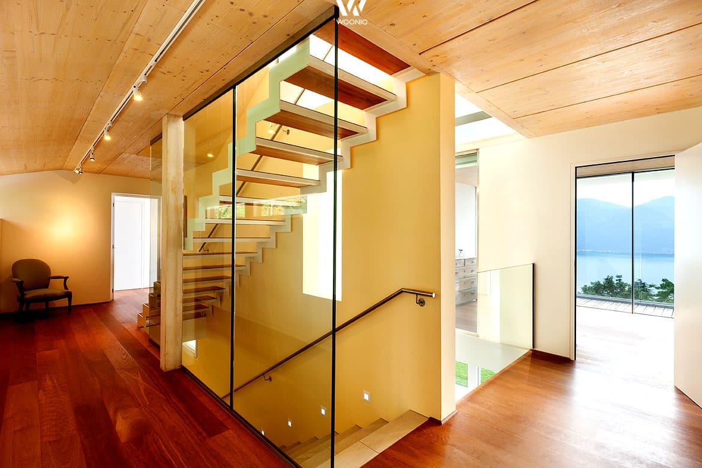 eine offene wohnraumgestaltung l sst sich auch mit verglasungen erreichen wohnidee by woonio. Black Bedroom Furniture Sets. Home Design Ideas