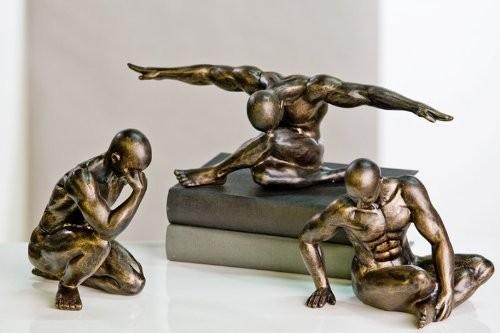 3er-Set-Skulptur-Workout-von-Casablanca-Act-Figur-Sport-0