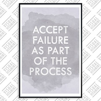 Accept-failure-as-part-of-the-process-Visual-Vitamins-Poster-Top-Qualitt-Schweres-200gqm-Glossy-Fotopapier-Motivation-und-Inspiration-914-x-61-cm-0