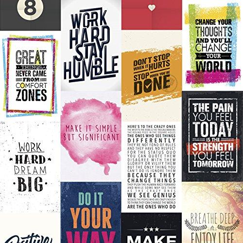 visual vitamins motivationsposter vin019 change your world inspiration poster hochwertige. Black Bedroom Furniture Sets. Home Design Ideas