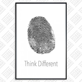 Apple-Think-Different-Fingerabdruck-Visual-Vitamins-Poster-Top-Qualitt-Schweres-200gqm-Glossy-Fotopapier-Motivation-und-Inspiration-914-x-61-cm-0