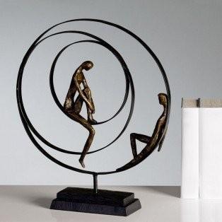 Casablanca-Skulptur-Patience-34-x-41-cm-bronze-0
