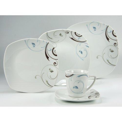 creatable 19277 serie bianca classico kombiservice 100 teilig blau online kaufen bei woonio. Black Bedroom Furniture Sets. Home Design Ideas