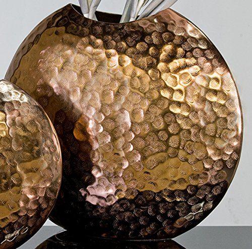 Designer-Vase-Push-aus-Alu-kupfer-34-x-39-x-12-cm-0