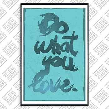 Do-what-you-love-Visual-Vitamins-Poster-Top-Qualitt-Schweres-200gqm-Glossy-Fotopapier-Motivation-und-Inspiration-914-x-61-cm-0