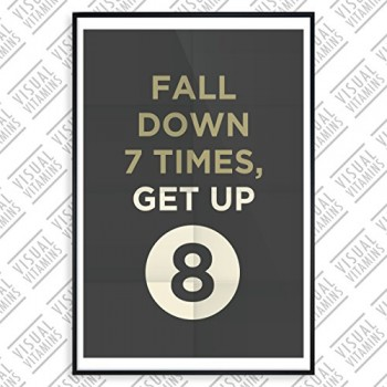 Fall-Down-7-Times-Get-Up-8-Visual-Vitamins-Poster-Top-Qualitt-Schweres-200gqm-Glossy-Fotopapier-Motivation-und-Inspiration-914-x-61-cm-0