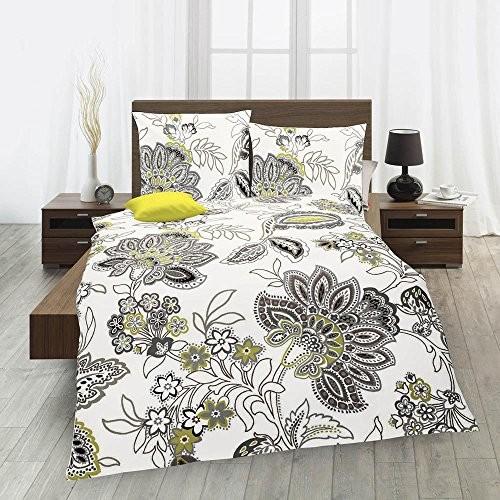 fleuresse biber bettw sche davos 133245 gr n 155x220 cm 80x80 cm online kaufen bei woonio. Black Bedroom Furniture Sets. Home Design Ideas