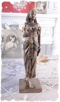 Frauenfigur-Knigin-Kleopatra-gyptische-Skulptur-Antike-PALAZZO-EXCLUSIV-0