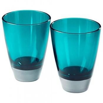 GLAS-Trinkglas-blau-2er-Set-0