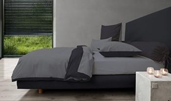 HnL-Royal-Cotton-Wende-Bettwsche-in-castle-grey-jet-black-135x200--80x80-cm-0