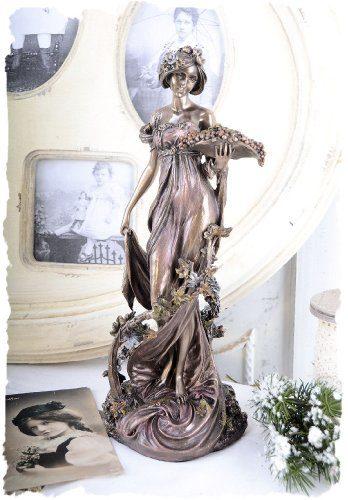Jugendstil-Frauenskulptur-nach-Alfons-Mucha-Sezession-Vintage-Nymphe-PALAZZO-EXCLUSIVE-0