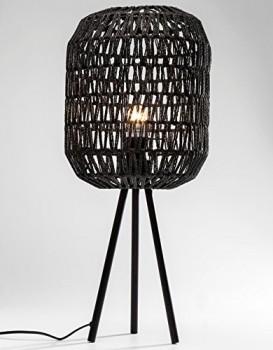 Kare-36901-Tischleuchte-Cestino-schwarz-Lampe-Leuchte-Tischlampe-0