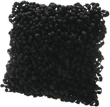 kissen bobbel 40x40 schwarz kuschelkissen by kare design online kaufen bei woonio. Black Bedroom Furniture Sets. Home Design Ideas