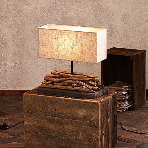 tischlampe modern holz. Black Bedroom Furniture Sets. Home Design Ideas