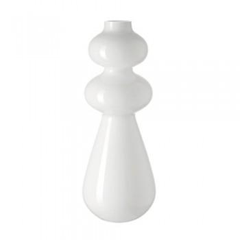 Leonardo-Vase-Natale-Handarbeit-Deko-Blumen-Vase-BlumenvaseGlas-50-cm-Wei-0