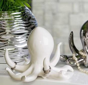 Octopus-Krake-Tintenfisch-Bad-Deko-Badezimmer-Schmuckhalter-Ringhalter-0