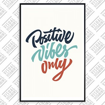 Positives-vibes-only-Visual-Vitamins-Poster-Top-Qualitt-Schweres-200gqm-Glossy-Fotopapier-Motivation-und-Inspiration-914-x-61-cm-0
