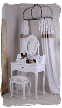SchminktischFrisiertischFrisierkommodeSchminkkommodeSpiegeltisch-im-Rokoko-Stil-fr-das-heimische-Frisierzimmer-oder-den-Salon-inklusive-Hocker-Palazzo-Exclusive-0