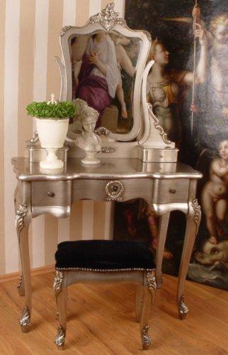 sch ner schminktisch schminkkommode spiegeltisch frisiertisch tisch mit lieblichem und. Black Bedroom Furniture Sets. Home Design Ideas