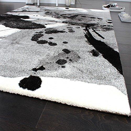 Teppich Modern Splash Brush Designer Teppich Meliert