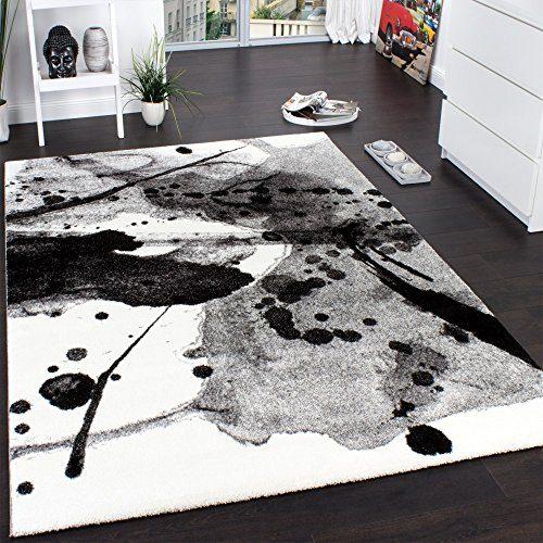 Teppich modern  Teppich Modern Splash Brush Designer Teppich Meliert Schattiert ...