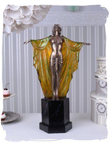 Tischleuchte-Art-Deco-Frauenfigur-Femme-Fatale-Vintage-Lampe-PALAZZO-EXCLUSIVE-0