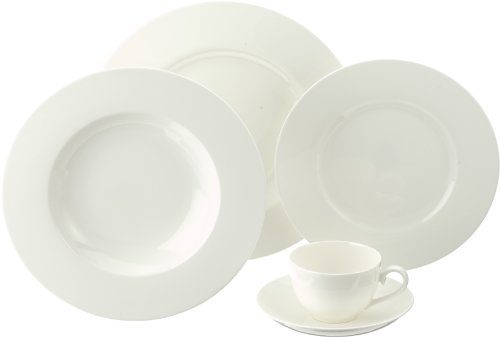 villeroy boch royal white 30 piece dinnerware set service for 6 online kaufen bei woonio. Black Bedroom Furniture Sets. Home Design Ideas