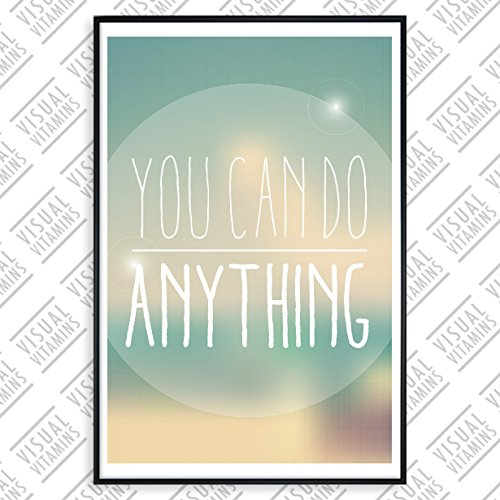 posterhouse24 ph029a1 motivation poster anything 235g premium satin fotopapier 61 x 91 5 cm. Black Bedroom Furniture Sets. Home Design Ideas