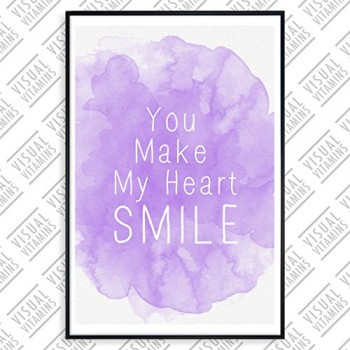 You-make-my-heart-smile-Visual-Vitamins-Poster-Top-Qualitt-Schweres-200gqm-Glossy-Fotopapier-Motivation-und-Inspiration-914-x-61-cm-0