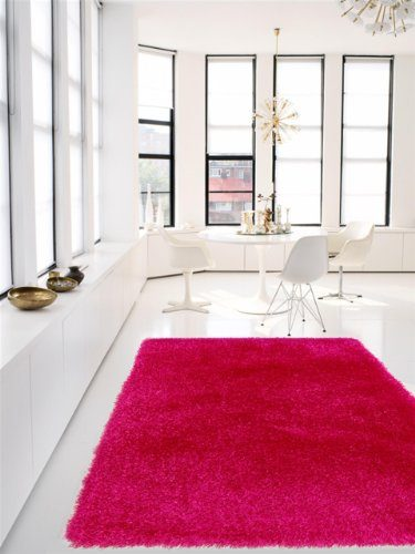 benuta shaggy rug jersey pink 200x290 cm online kaufen bei woonio. Black Bedroom Furniture Sets. Home Design Ideas