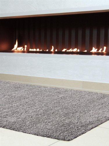 benuta shaggy rug swirls grey 200x290 cm online kaufen bei woonio. Black Bedroom Furniture Sets. Home Design Ideas