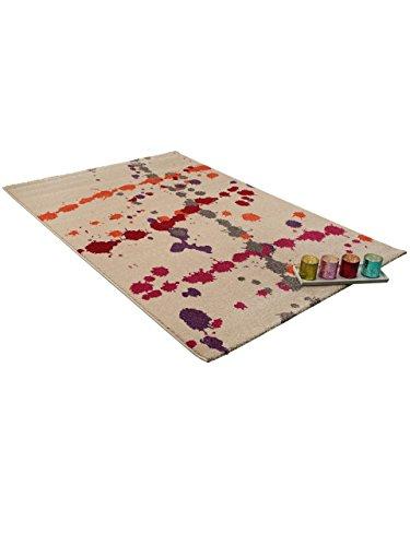 benuta teppiche teppich colour drops grau 200x290 cm. Black Bedroom Furniture Sets. Home Design Ideas