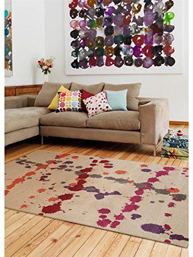 benuta teppiche teppich colour drops grau 200x290 cm schadstofffrei 100 polypropylen. Black Bedroom Furniture Sets. Home Design Ideas