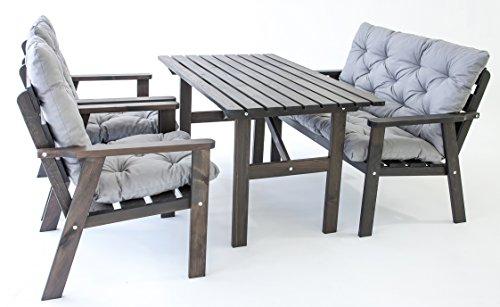 ambientehome garten loungegruppe sitzgruppe essgruppe. Black Bedroom Furniture Sets. Home Design Ideas